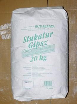 STUKATÚR GIPSZ 20 kg