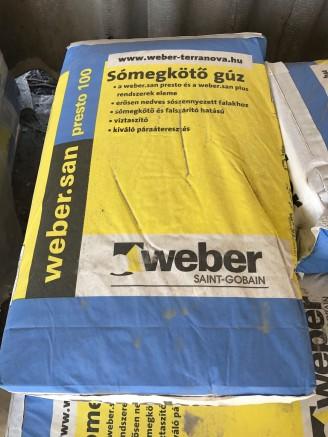 WEBER SAN PRESTO GÚZ 100 40 kg