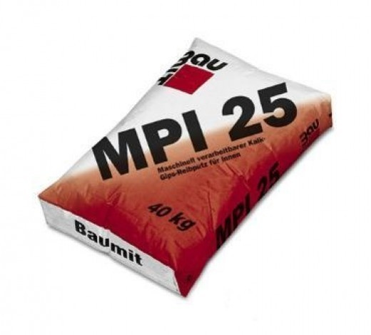 Baumit alapvakolat MPI 25(GV25) 40 kg