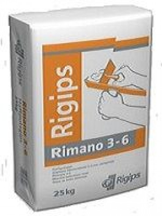 RIGIPS  3-6 GLETT VÉKONYVAKOLAT  20 kg