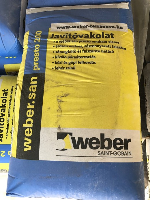 WEBER SAN PRESTO VAKOLAT 200 40 kg