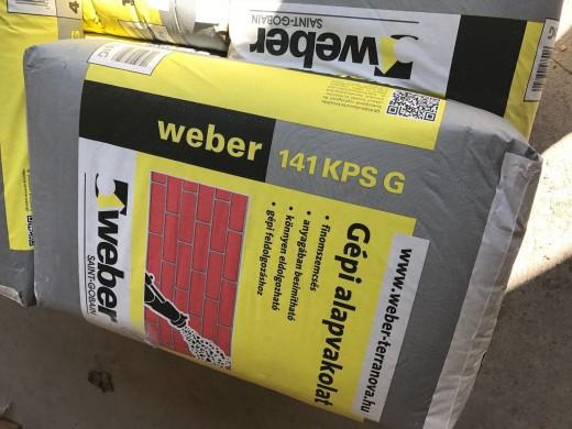 WEBER KPS 141 G/K.ALAPVAKOLAT 40 kg